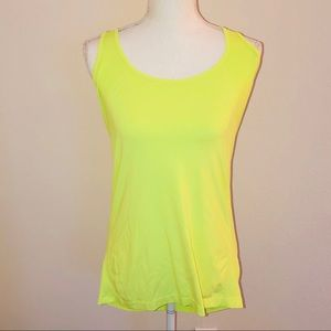 Fabletics Neon Yellow Work Out Top